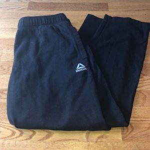 Black Reebok Sweatpants